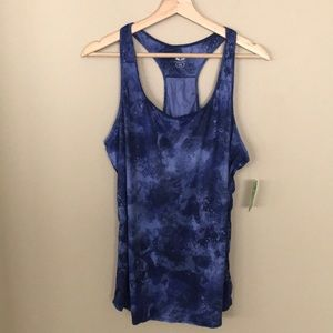 ATHLETIC WORKS Racer Back Tank Polyester NWT